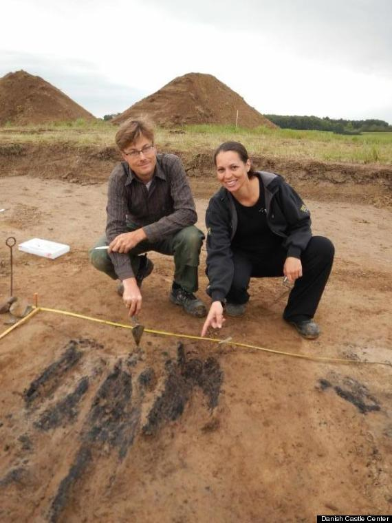 viking fortress archeologists