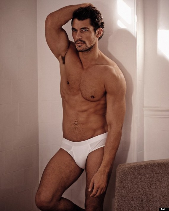 David Gandy Strips To His M&S Underwear. World Swoons. (PICS)