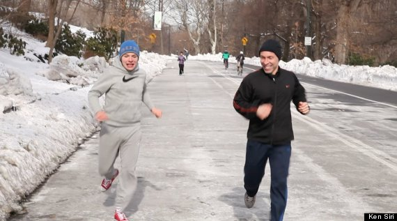 ken and alex running