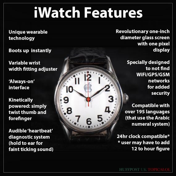 apple iwatch spoof