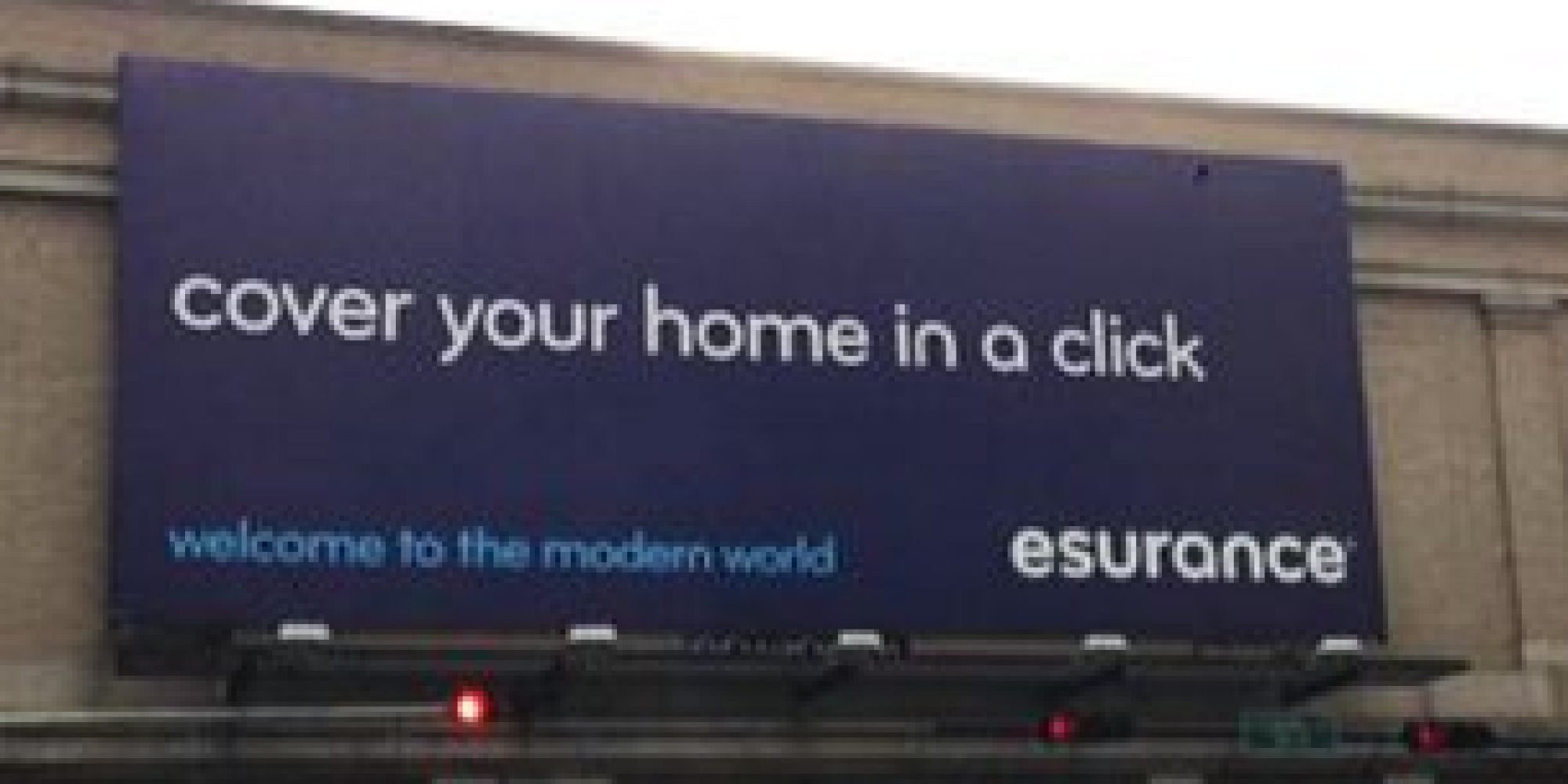 Esurance Takes Down Billboards With Seemingly Smutty Typo