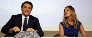 Matteo Renzi Maria Elena Boschi