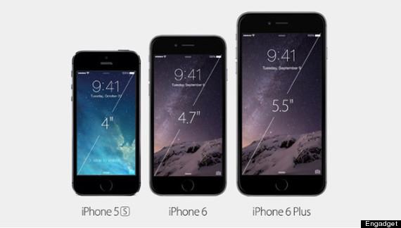 apple event size comparison