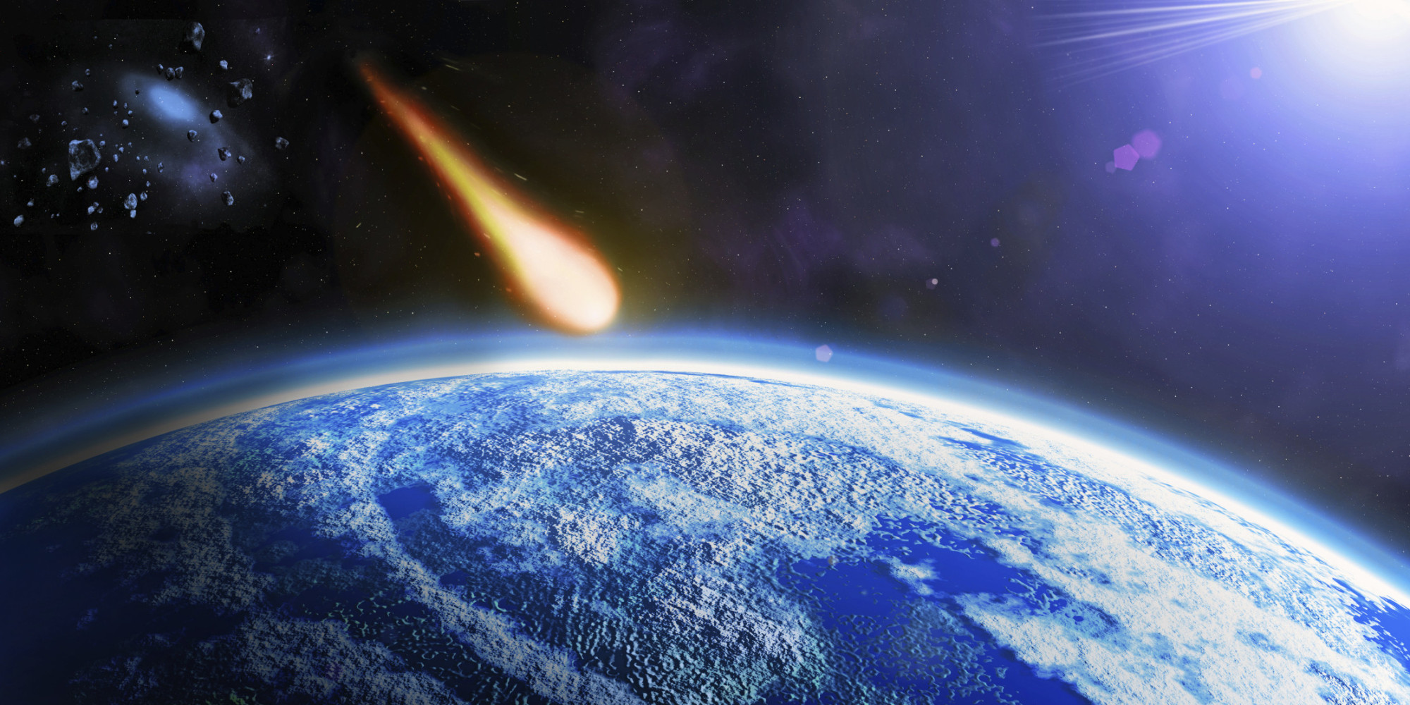 Asteroid hitting earth wallpaper page 3 pics about space