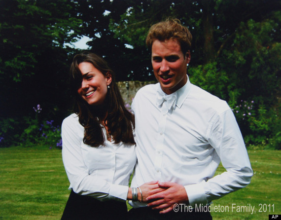 william kate st andrews university