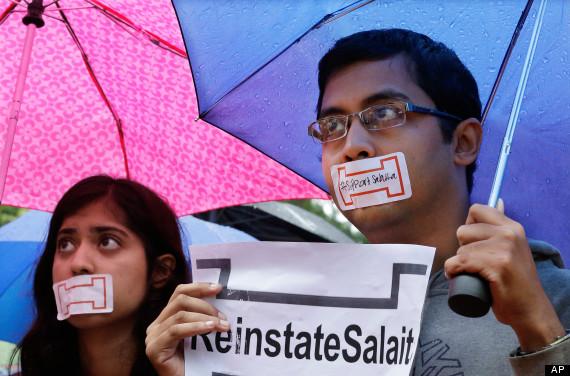salaita protest
