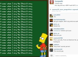 Liverpool Get Bart Simpson To Discourage Swearing At Anfield
