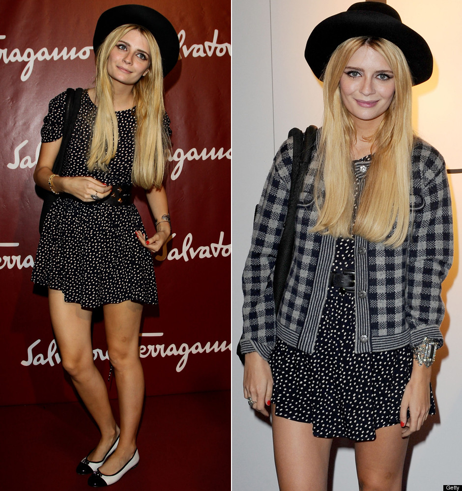 Mischa barton fashion style