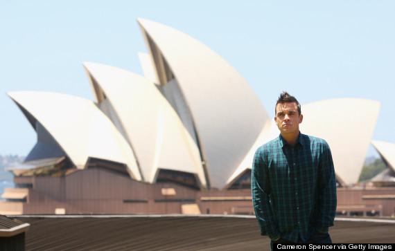 robbie williams australia
