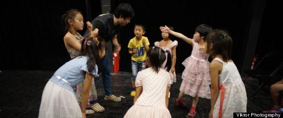 migrant kids circle