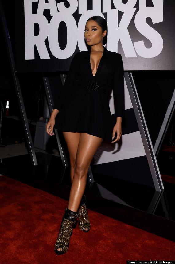 Nicki Minaj Goes For An Understated Look On Fashion Rocks