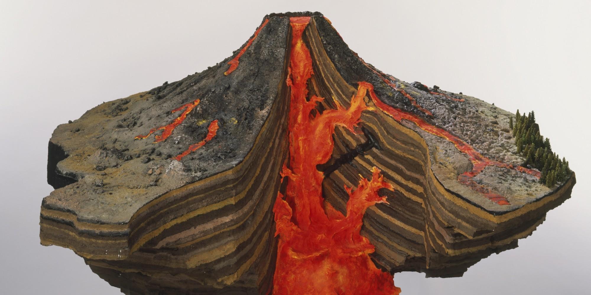 Макет действующего вулкана своими руками в домашних условиях