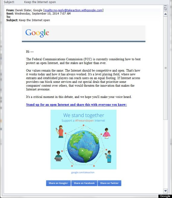 internet slowdown gmail