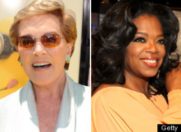 Julie Andrews Oprah