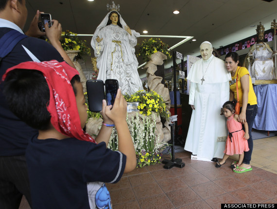 pope francis philippines