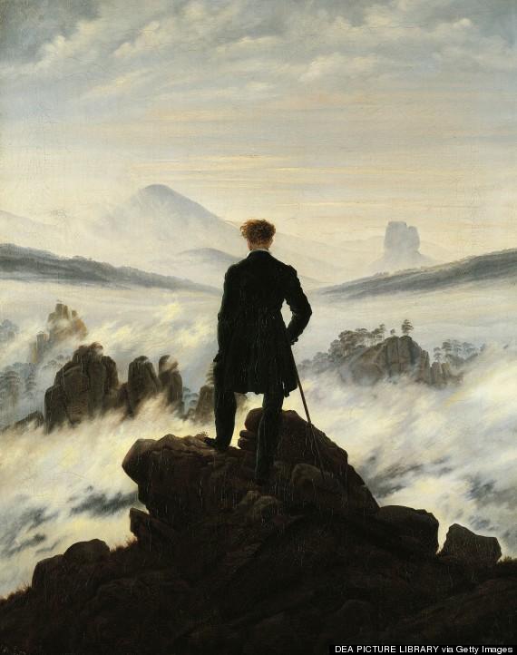 wanderer sea of fog