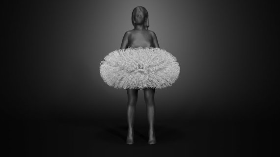This Exhibition Of 3D Printed Fashion Is The Art Lover's