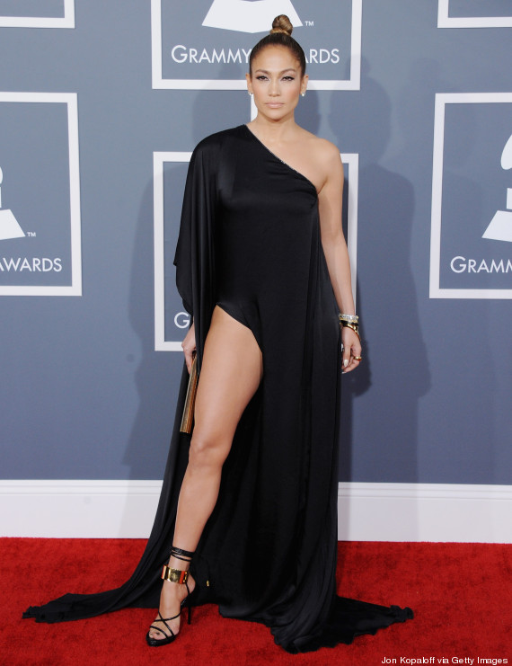 Jennifer Lopez Grammy 2013