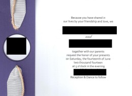 Here's Why You Really Should Proofread Your Wedding Invites