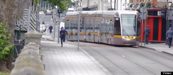 sonic races tram