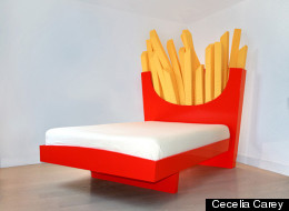 Supersized Fry Bed Guarantees The Greasiest Of Dreams