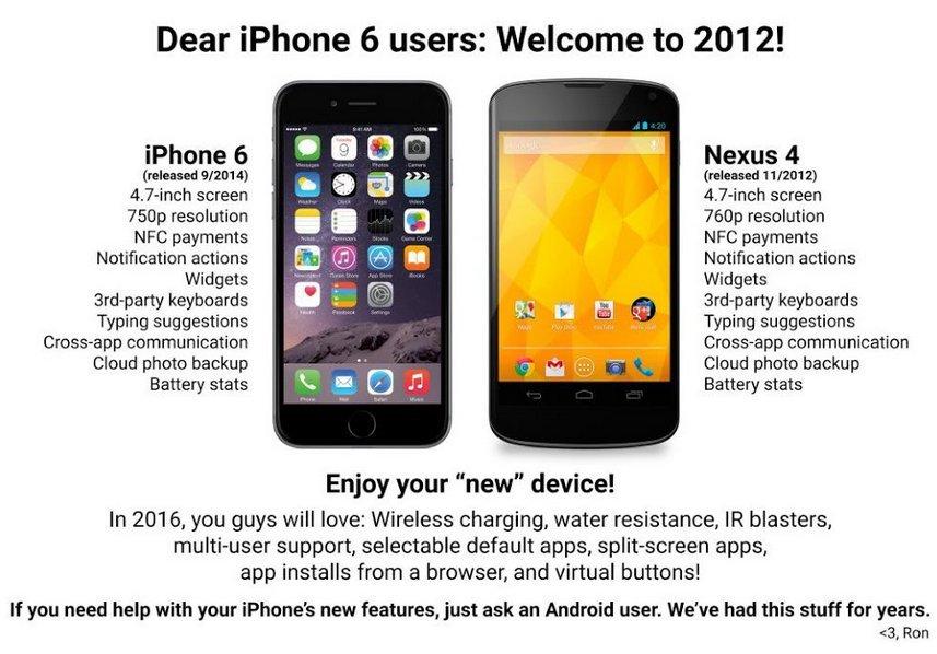 троллинг iphone 7