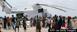 UN HELICOPTER SUDAN