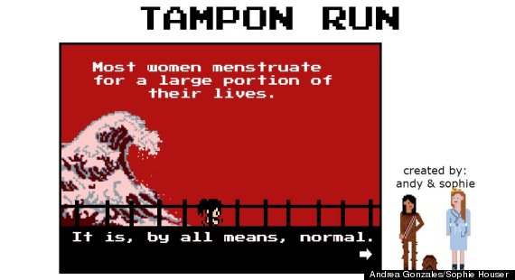 tampon run intro