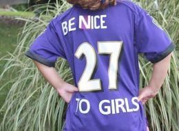 Dad Redesigns Ray Rice Jersey To Share A Very Important Message