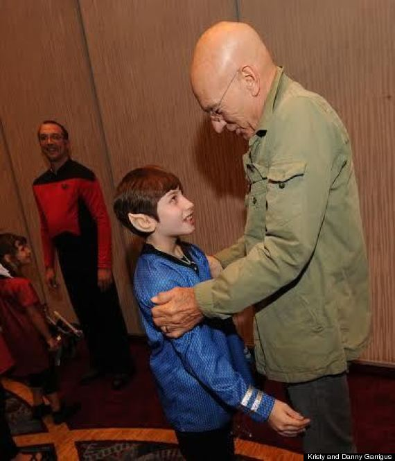 dawn meeting patrick stewart