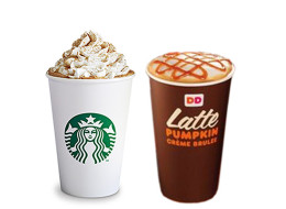 Dilemma: Which Coffee Chain Has The Best Pumpkin Latte?