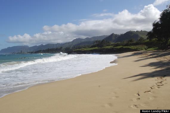 pounders beach