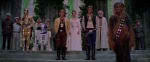 Star Wars Final Scene