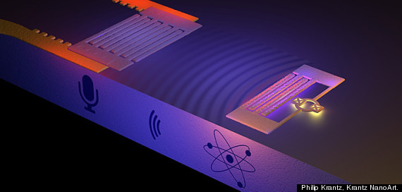 Scientists Capture The Sound Of A Single Atom, And Apparently It's A 'D-Note'