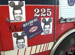 Entente de principe entre Montréal et ses pompiers