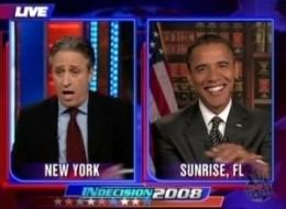 Obama Jon Stewart