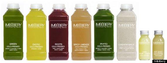 imbibery cold pressed juices