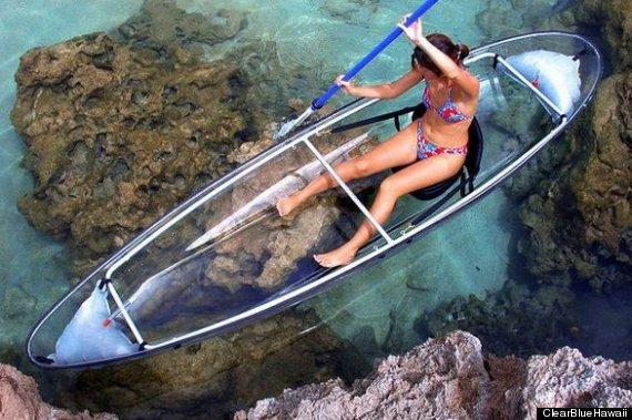 The Molokini, A Transparent Ocean Kayak So Genius, We Wish We'd