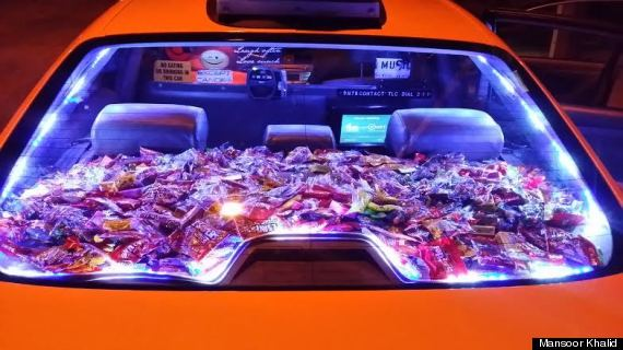nyc candy cab