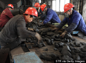 chinese coal mine