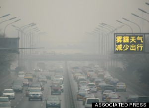 beijing pollution smog