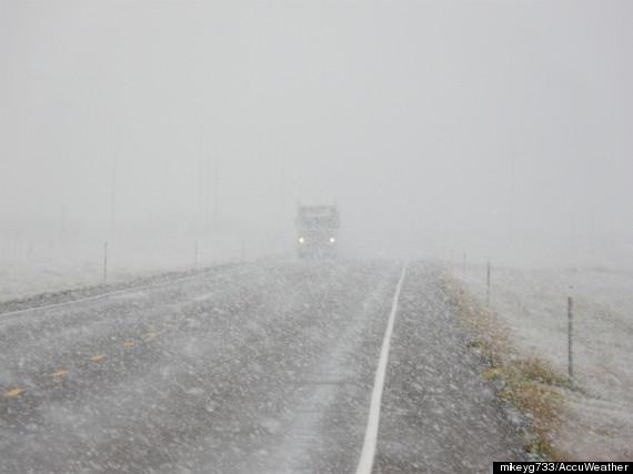 snow montana road