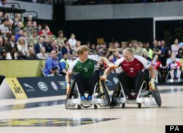 Prince Harry Stars At Wheelchair Rugby In Invictus Games