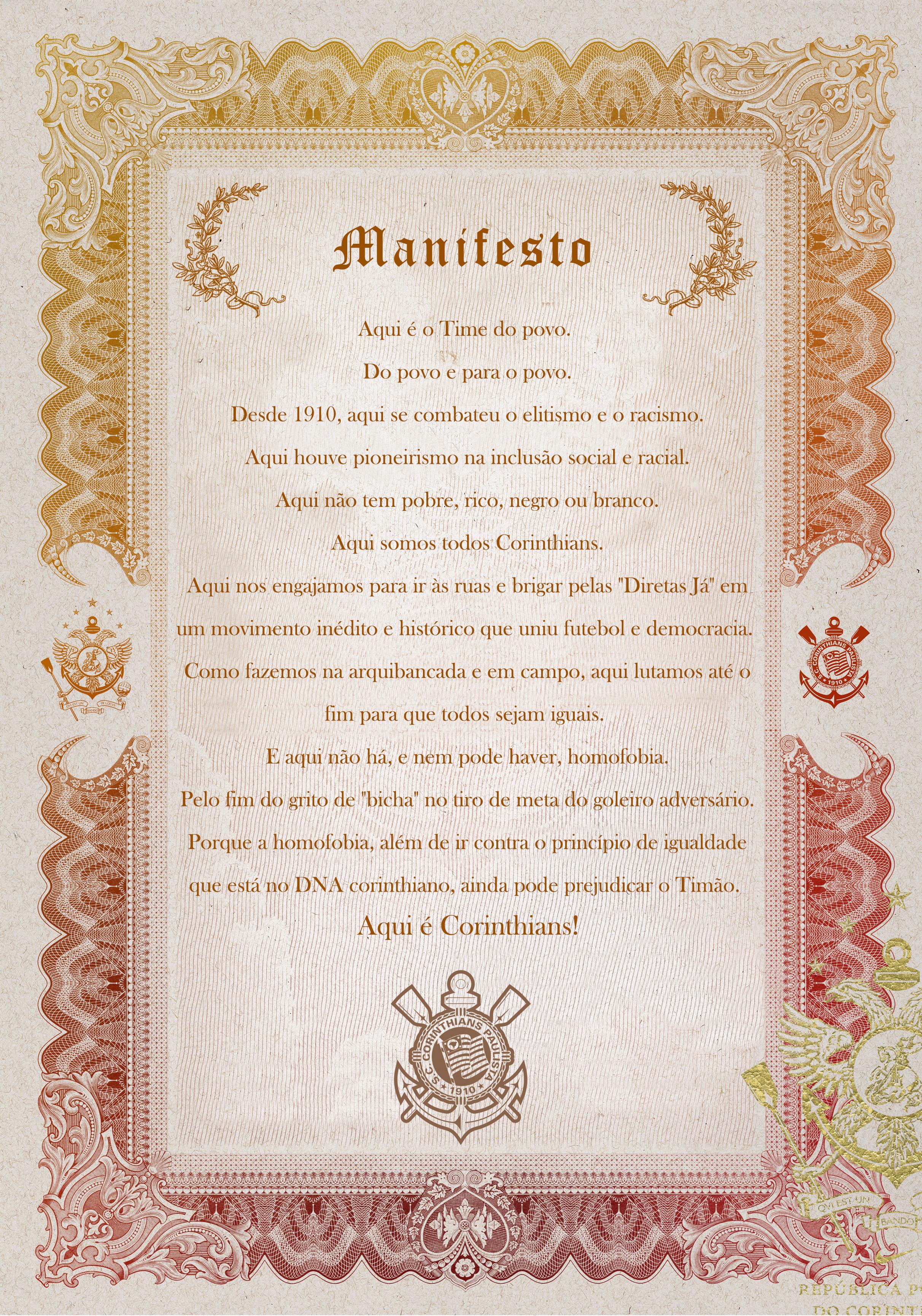 manifesto contra homofobia
