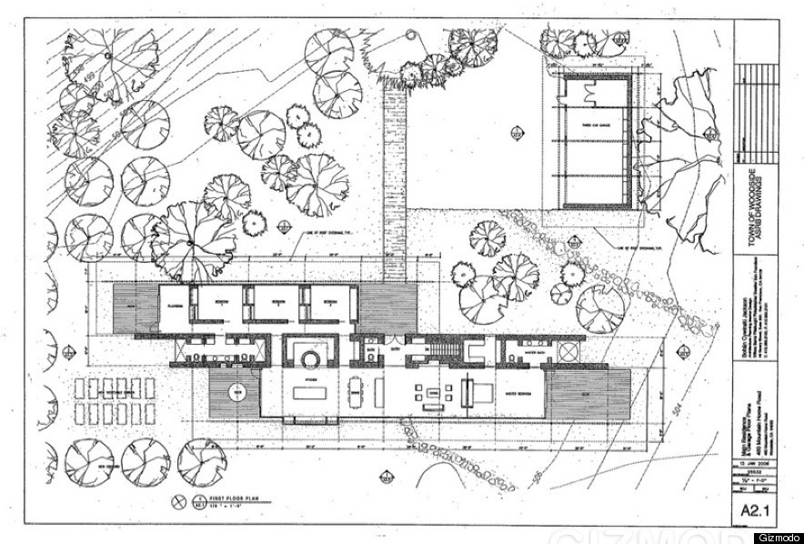 Steve Jobs 39 New House Plans For Woodside Mansion Revealed