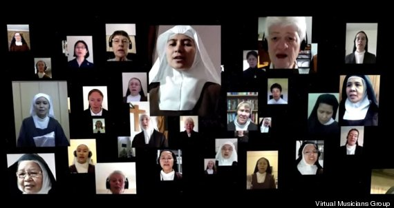 carmelite nuns virtual choir