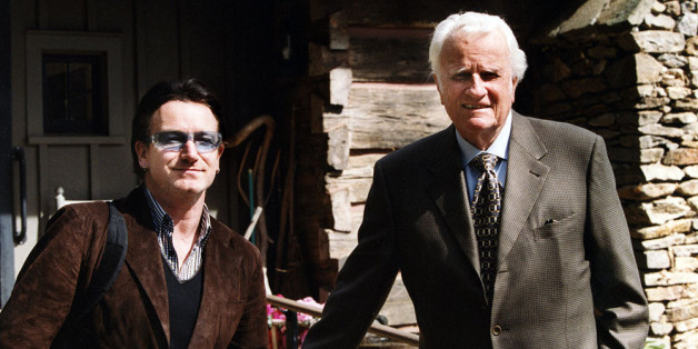 U2's Bono Once Wrote A Poem For Billy Graham: 'The Journey ...
