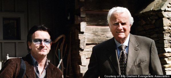 The Surprising Friendship Between Billy Graham And Bono