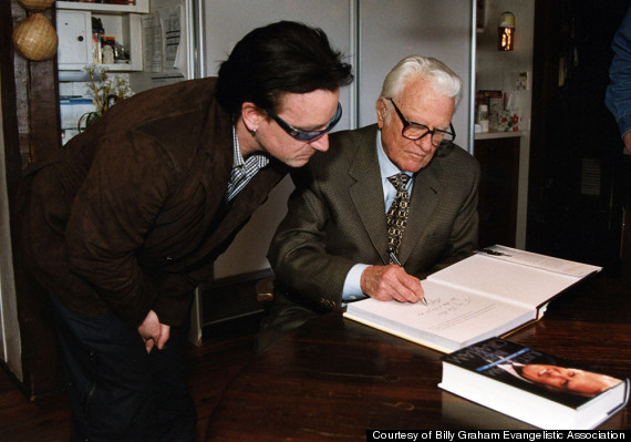U2's Bono Once Wrote A Poem For Billy Graham: 'The Journey From Father To Friend'