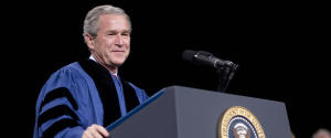 GEORGE W BUSH COMMENCEMENT